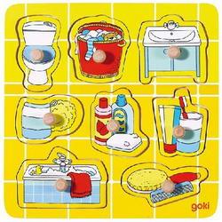 Рамка - вкладыш В ванной (8 элементов), Goki