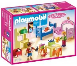 Кукольный дом: Детская комната для двух детей, Playmobil